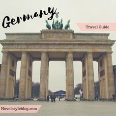 Germany travel guide! Find out some of my favorite cities and places to visit in Germany!