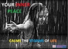 Calm the storm of life