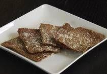 Low carb garlic Parmesan crackers