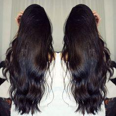Projeto Along Hair – Recupere em 30 dias Long To Short Hair, Long Dark Hair, Very Long Hair, Long Hair Styles, Beautiful Long Hair, Gorgeous Hair, Onion Hair Mask, Hair Addiction, Hair Heaven