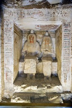 "Tomb of Amenemipet Luxor, Egypt ~""Amenemipet called Pairy was buried in TT29 in Abd el Qurna in Thebes.[1] He also had a tomb in the Valley of the Kings. Tomb KV48 is an undecorated tomb in the western branch of the southwest wadi. It is located near KV35, the tomb of Amenhotep II whom Amenemipet served. The tomb contained among others some shabtis belonging to Amenemipet.[3]"" -wikipedia"
