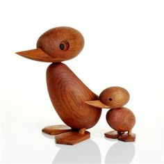 Duck Family by Hans Bolling