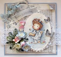 I love this little image from Magnolia.......beautiful card!