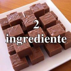 Ciocolata de casa cu 2 ingrediente