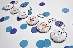 Frosty Stitches for Snowmen and Snow