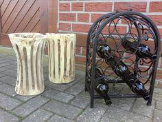 Tolle Windlichter aus Holz, schöne Deko für Garten oder Terrasse von woodforliving