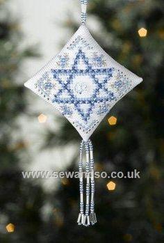 Buy Star of David Cross Stitch Kit Online at www.sewandso.co.uk