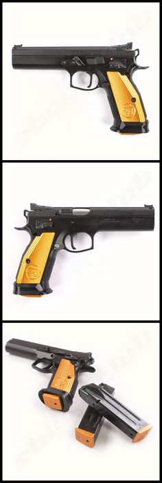 CZ 75 Tactical Sport Orange - 9mm LugerLoading that magazine is a pain! Get your Magazine speedloader today! http://www.amazon.com/shops/raeind