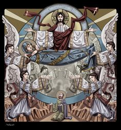 The Ascension by Mina Anton, via Behance
