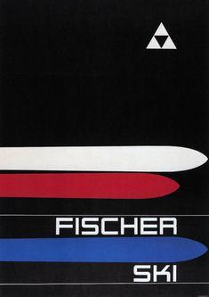 Fischer skis - 1963.
