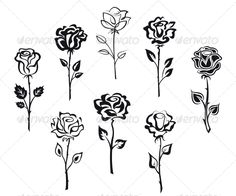 Set of Rose Flowers #GraphicRiver Set of rose flowers isolated on white background for holiday design. Editable EPS8 (you can use any vector program) and JPEG (can edit in any graphic editor) files are included SPORTS MASCOTS MEDICINE FOOD LABELS WEDDING DESIGN ELEMENTS FLORAL OBJECTS WEB ICONS ANIMALS Created: 30November12 GraphicsFilesIncluded: JPGImage #VectorEPS Layered: Yes MinimumAdobeCSVersion: CS Tags: bloom #blossom #bouquet #decoration #embellishment #floral #flower #gift…