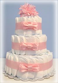 Deb's Baby Diaper Cakes: Baby Boy and Baby Girl Diaper Cakes