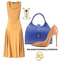 LIZ by elizabethhorrell on Polyvore featuring polyvore fashion style Burberry Christian Louboutin Lizzie Fortunato Gorjana