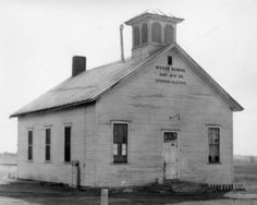 Myers School House before restoration, SPARTA MI Sparta Michigan, Restoration, Homeschool, Cabin, History, House Styles, Home Decor, Historia, Decoration Home