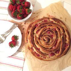 Strawberry Cheesecake Pinwheel