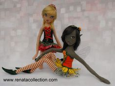 cloth-doll-fairies handmade-fairies cloth-dolls renata-collection-dolls