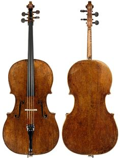 "Giuseppe Guarneri del Gesu ""Messeas"" 1731 Cello"