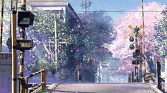 Makoto Shinkai is the director who has made his name by directing brilliantly executed movies that highlight the natural beauty in the world like 5 Centime