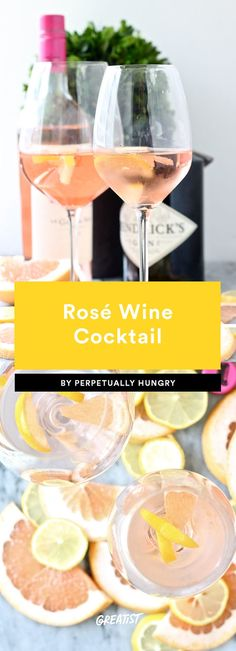 9 Rosé Cocktails That Will Put Your Frosé to Shame This Summer