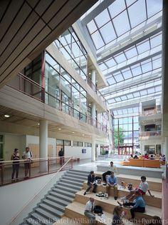 William McDonough – American University School of International Service. Image © Prakash Patel/William McDonough + Partners