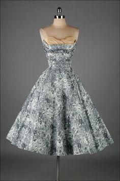 Vintage 1950's Fred Perlberg Cocktail Dress