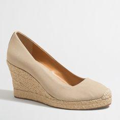 Canvas espadrille wedges : FactoryWomen Shoes | Factory