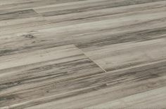 BuildDirect – Porcelain Tile - Eroded Wood Plank Collection - Made in Spain – Weathered - Angle View