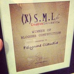 Winner of XSML Blogger