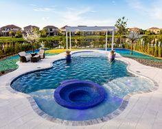 AAA Custom Pools, Inc Bronze in Pool & Spa Combination 701 sq ft +