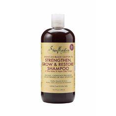 SHEAMOISTURE - Jamaican Black Castor Oil - Strengthen, grow and restore Shampoo - Cheveux défrisés colorés - Curlymari.com