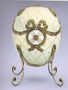Imperial Eggs that were Easter gifts given by Czar Alexander III and, his son Czar Nicholas II to their wives (Maria and Alexandra),