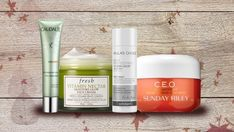 6 Powerhouse products for summer-to-fall skincare   CBC Life Autumn Summer, Fall, Sunday Riley, Blame, Vitamins, Hair Makeup, Moisturizer, Skincare, Glow