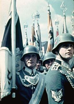 """ssdestiny1: """"Military demonstration at Adolf Hitler's """"Fuhrer's"""" 50th birthday celebration in Berlin on the 20th of April 1939 """""""