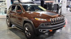 Jeep® Cherokee Trail Carver is more rugged then the Trailhawk at SEMA