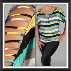 Love this top in Plus size...for the curvy girls.  In stock at La Boutique! www.shopLaBoutique.com or www.facebook.com/shopLaBoutique