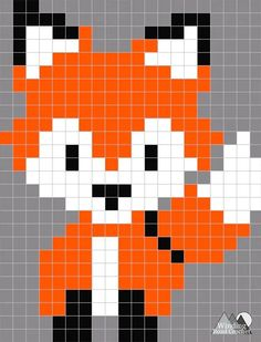 Fox Crochet Stocking A Pattern Remix Winding Road Crochet Crochet Stocking, Stocking Pattern, Cross Stitching, Cross Stitch Embroidery, Cross Stitch Patterns, Diy Perler Beads, Perler Bead Art, Loom Beading, Beading Patterns