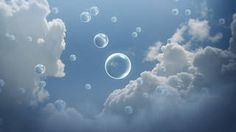 Clouds in the sky with drawing of round water droplets Earth Weather, Cloud Type, Cirrus Cloud, Paper Clouds, Rain Clouds, Catholic School, Mural Wall Art, Water Droplets, Blue Backgrounds