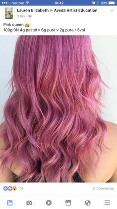 Rose Gold Hair, Pink Hair, Blonde Hair, Braided Hairstyles Tutorials, Pretty Hairstyles, Couleur Aveda, Aveda Hair Color, Bright Hair Colors, Hair Colours