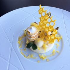 Honey, ginger, lemon. By @dgranjalop #DessertMasters