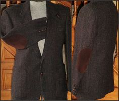 Hunting Jacket Wool Tweed Sport Coat 39 R by VoraciouslyVintage