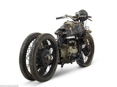 The ex- Hubert Chantrey, Brough Superior 750cc BS4 is one of the highly sought after Brough bikes which were found in a barn in Bodmin, Devon