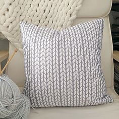 Knitspired Pillow