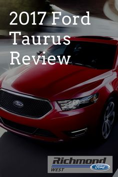 Check out the 2017 Taurus video walk through and review! #ford #review #fordtaurus #sedans
