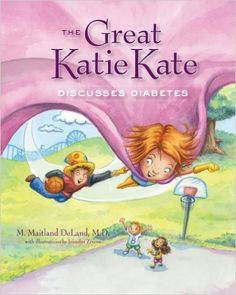 The Great Katie Kate Discusses Diabetes: This book helps kids to understand what diabetes is, and the things kids can do to manage it. It could be used to start a discussion with classmates about why a student needs to check his or her blood sugar, take insulin, and sometimes miss school. It also helps to frame the illness in a positive light, emphasizing bravery and empowerment