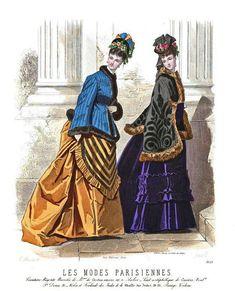 1874 Les Modes Parisiennes 1623