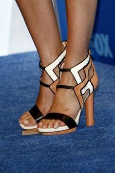 8c185d44d Burak Uyan Colorblock Multi Strap Sandals - Cameron Diaz  shoes  fashion   celebrity