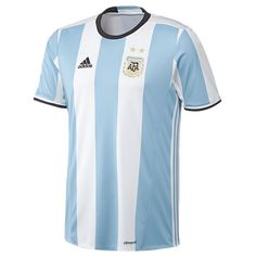 wholesale dealer b2f4d 92d6a Argentina adidas 201617 Home Jersey - Light BlueWhite https
