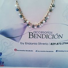 Collar Bendición, disponibles con #delivery y #envío disponible. Cel./WhatsApp📲829.873.2764 #accesoriosbendicion #BlessingStyle #hechoamano
