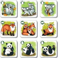 File Folder Activities, Forest Theme, Preschool Education, Animal Activities, Zoology, Pet Birds, Montessori, Card Games, Kids Crafts