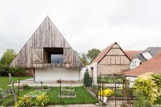 This  suburban Alsatian home was reworked into a contemporary version by Gens Architects